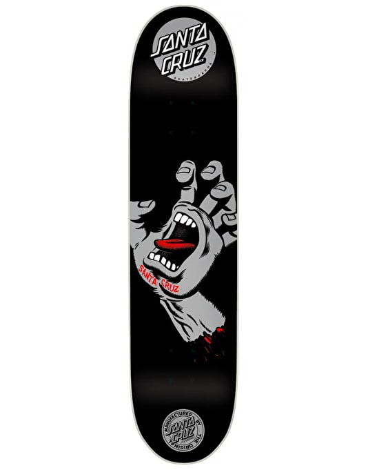 Santa Cruz Screaming Hand Team Deck - 8.2""