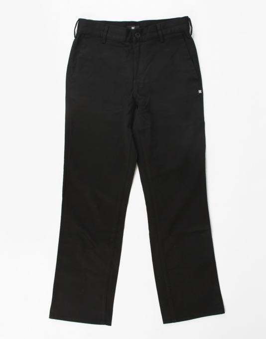 DC Worker Boys Trousers - Black