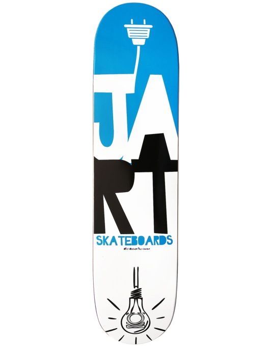 Jart Logo Light Team Deck - 7.75""