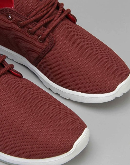 Etnies Scout Shoes - Burgundy
