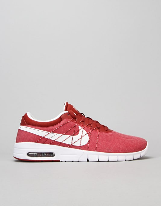 Nike SB Koston Max Shoes - Dark Cayenne/White-Dark Cayenne