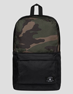 DC Bunker Print Backpack - Bold Camo Green