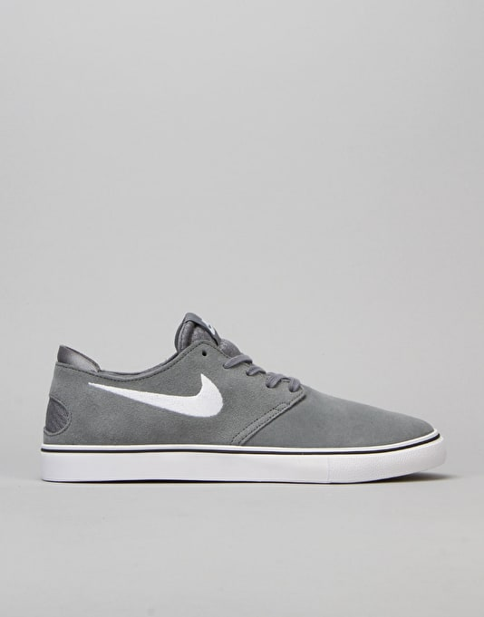Nike SB Zoom Oneshot Skate Shoes - Grey/White/Brown