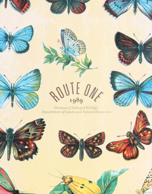 Route One Collectors Series Papilio Deck - 7.75""
