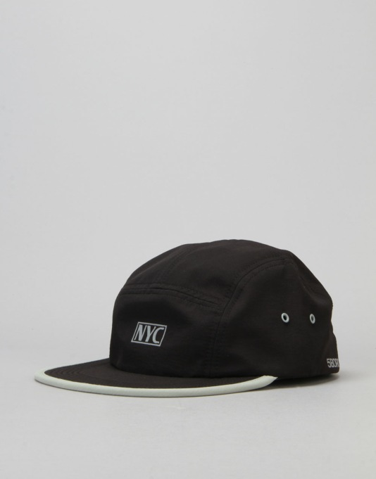 5boro VHS Camp Cap - Black