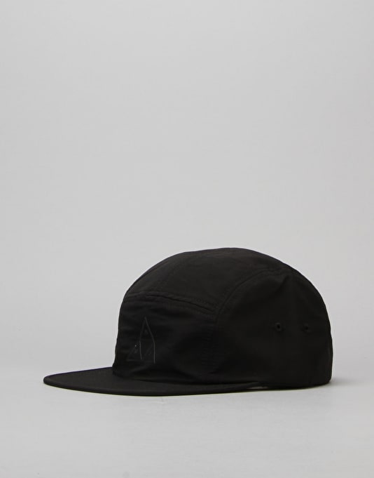 210a76151e1 HUF Triple Triangle Volley 5 Panel Cap - Black