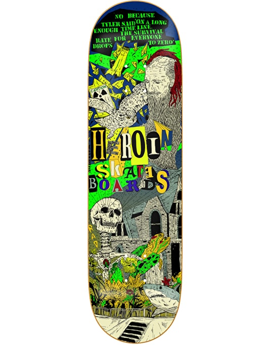 Heroin Hirotten Team Deck - 8.25""