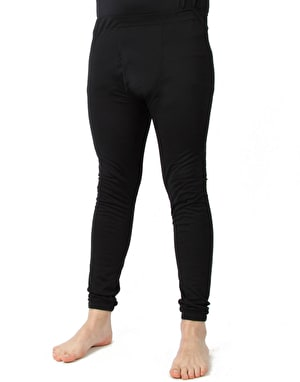 Silkbody Silkspun Thermal Leg Liner - Black