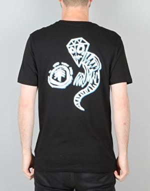Element x Fos Rock T-Shirt - Black
