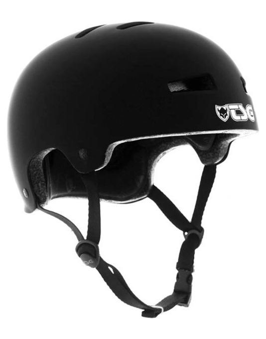 TSG Evolution  Helmet - Flat Black