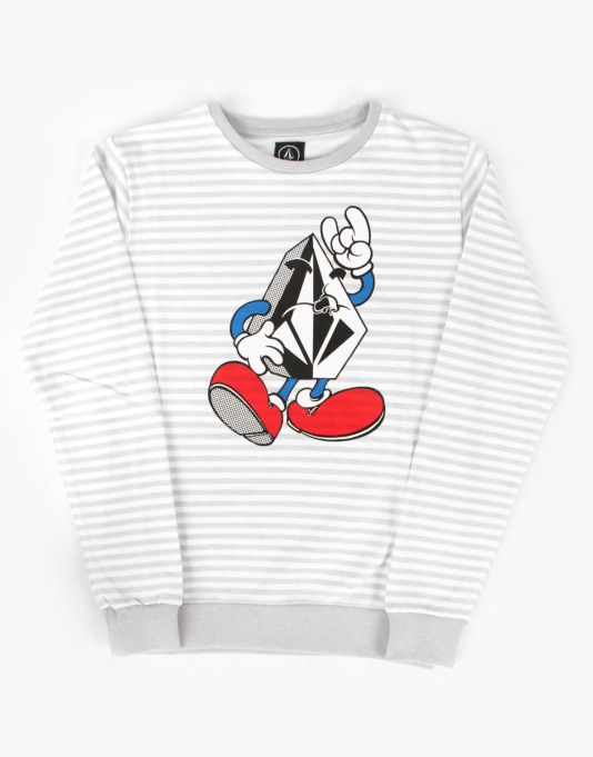Volcom Mr Stone Boys Crew Sweat