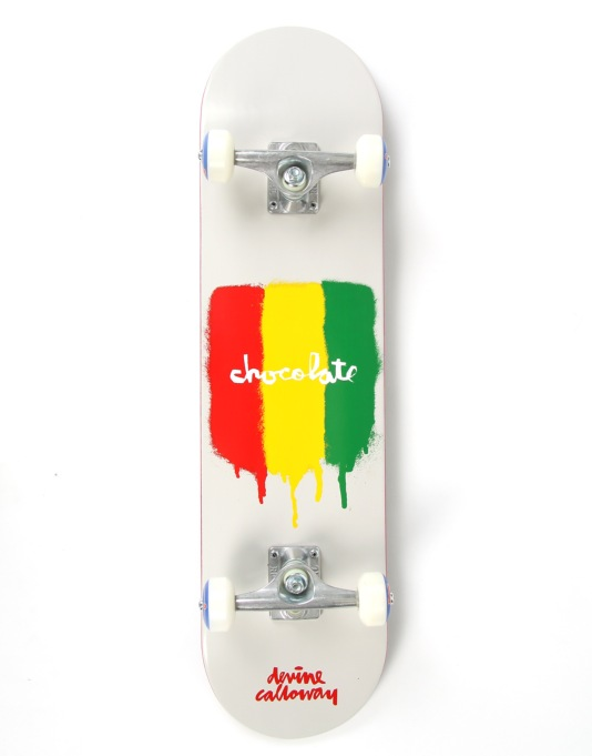 Chocolate Calloway Chunktone Complete Skateboard - 7.6""