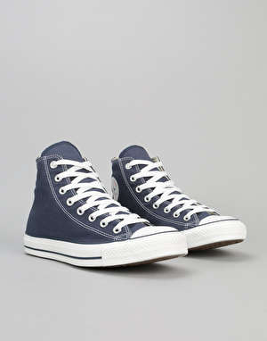 Converse All Star Hi-Top Trainers - Navy