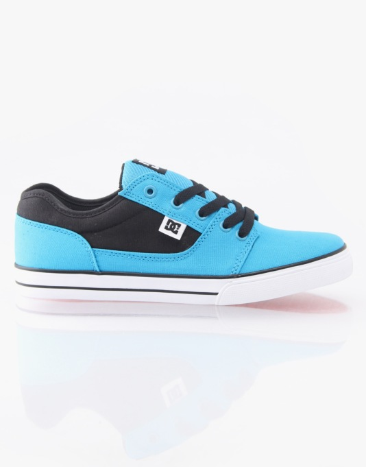 DC Bristol Canvas Boys Skate Shoes