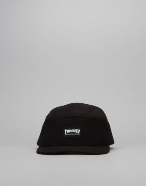 Thrasher Logo 5 Panel Cap - Black
