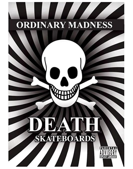 Death Ordinary Madness DVD