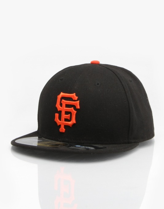 New Era MLB SF Giants Authentic Fitted Cap
