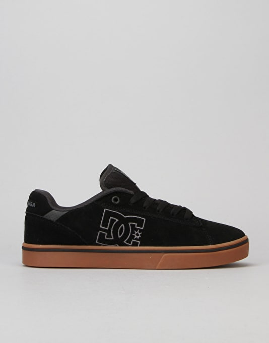 DC Notch SD Skate Shoes - Black/Gum