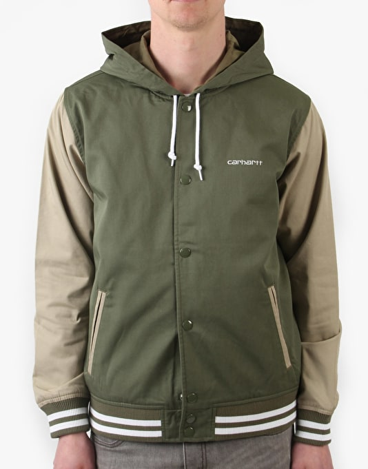 Carhartt Robson Hooded Varsity Jacket