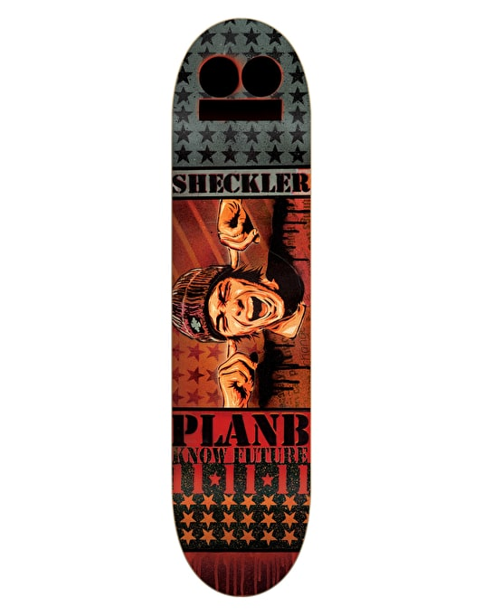 Plan B Sheckler Know Future Mini Pro Deck - 7.5""