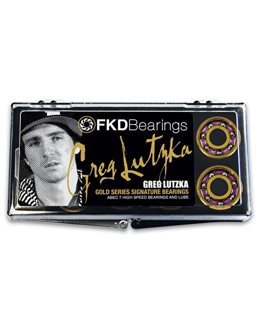 FKD Lutzka Gold Series ABEC 7 Pro Bearings