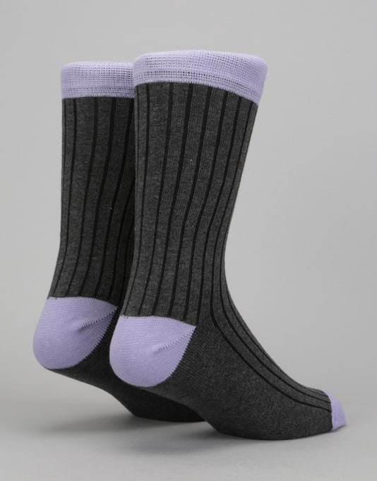 Route One Derby Socks - Grey