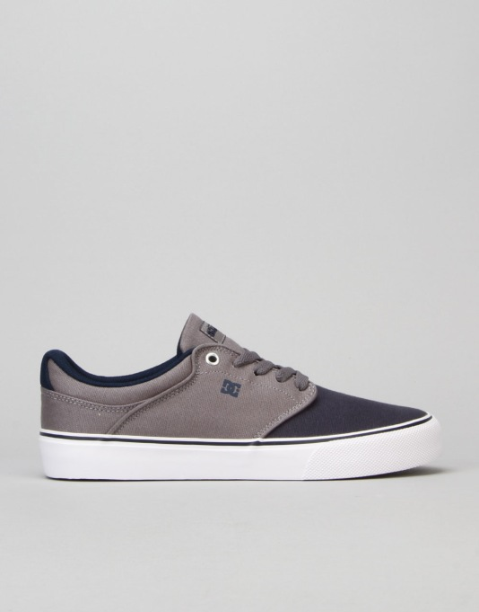 DC Mikey Taylor Vulc Skate Shoes - Grey/Black