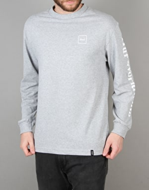 HUF Domestic Long Sleeve T-Shirt - Charcoal Heather