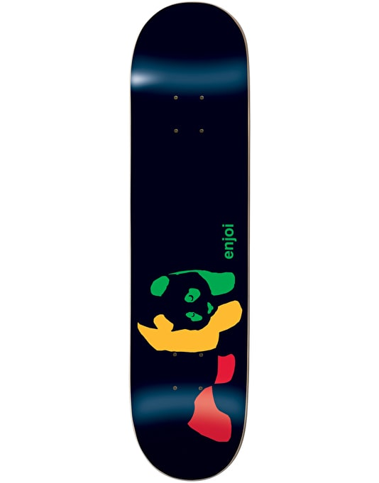 Enjoi Rasta Panda Team Deck - 7.5""