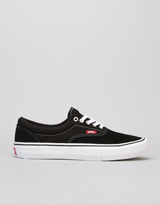 Vans Era Pro Skate Shoes - Black White Gum  38c12f0f3