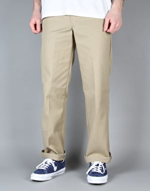 Dickies 873 Slim Work Pant - Khaki