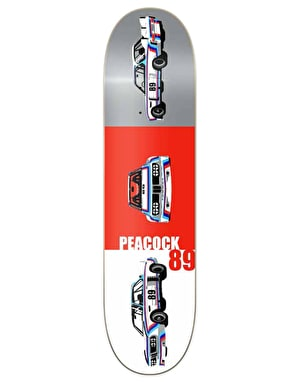 Primitive Skateboarding Peacock Rally Pro Deck - 8.1