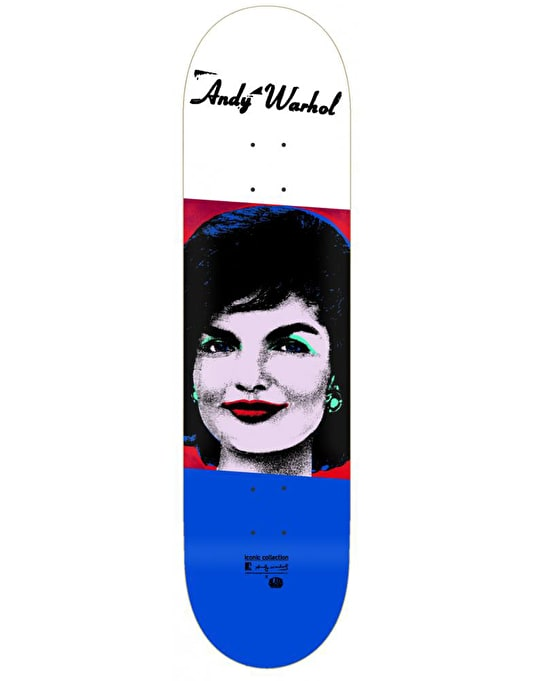 Alien Workshop x Warhol Jackie Iconic Deck - 8.25""