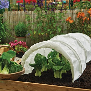 Grow Tunnel with Fleece Cover