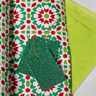 Wrap Tissue and Tag Set