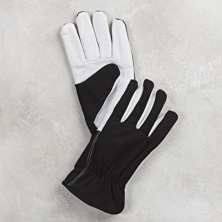 Leather Palm Fleece Lined Gloves