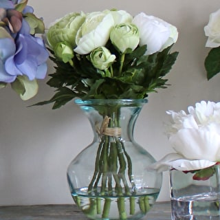 Ranunculus Arrangement in Small Vase