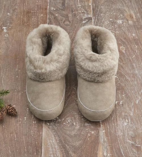 Sheepskin Boot Slippers