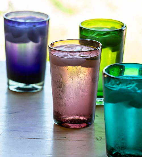 Mexican Glass Tumblers