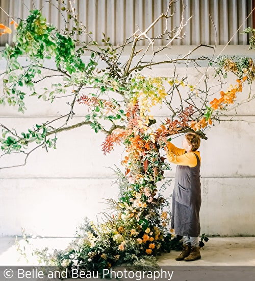 Flower Installations with Fiona Pickles/Firenza Flowers