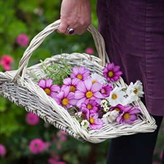Willow Flower Basket