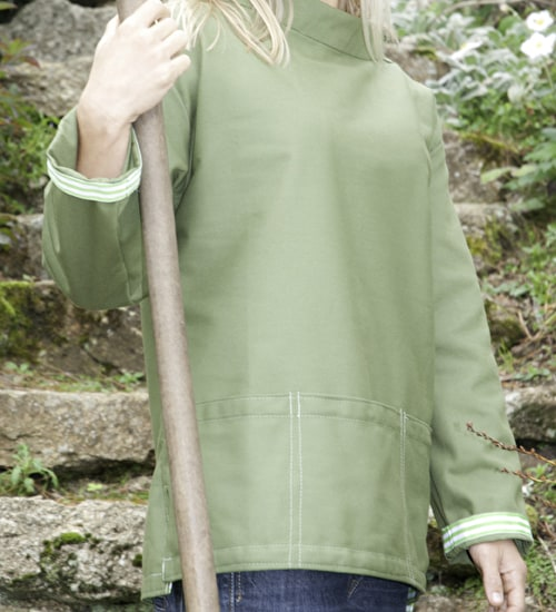 Forest Green Gardeners Smock