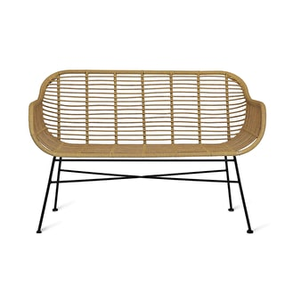 All-weather Bamboo-style Bench