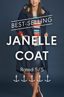 Janelle waterproof coat
