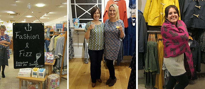 Photos of the Seasalt Fashion and Fizz event