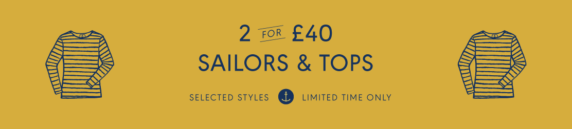 2 for £40 Sailors