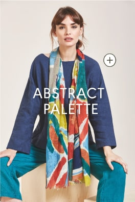 Seasalt Abstract Palette Scarf