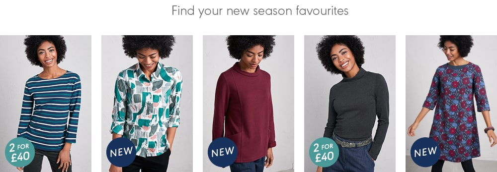 FInd your new season favourites