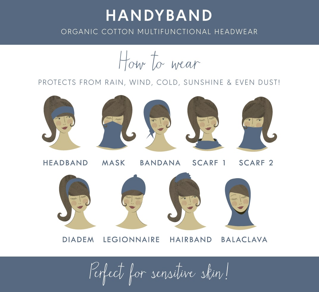 9 ways to wear your handyband