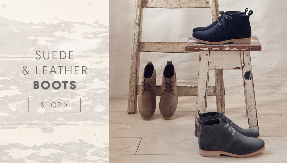Suede & Leather boots